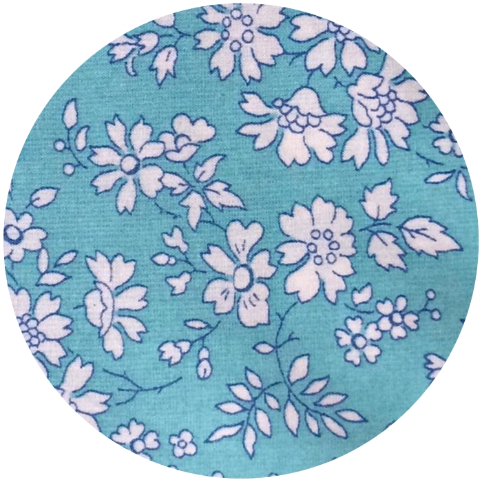 Liberty Capel Turquoise