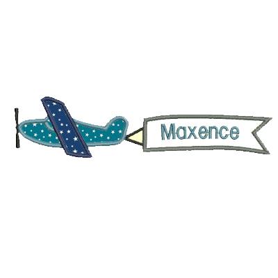 Avion Banderole