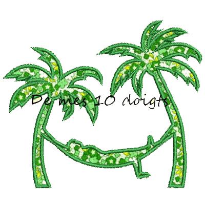 Hamac Et Palmiers