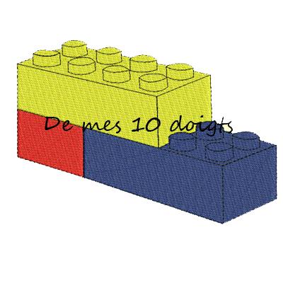 Lego Trois Pièces