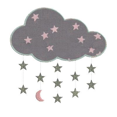 Nuage Etoiles Lune
