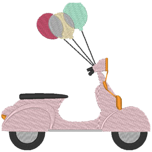Scooter Ballons