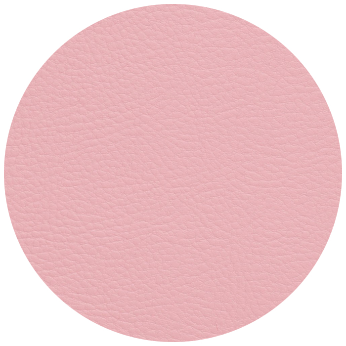 Simili cuir rose pale