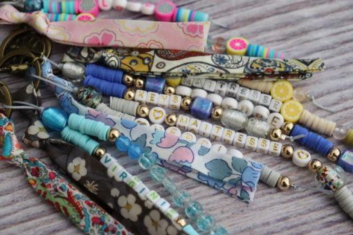 Porte-clés ou bijou de sac personnalisé