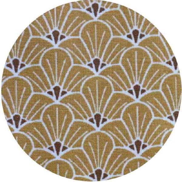 Fleurs Graphiques Moutarde