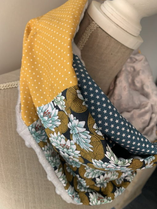 Snood double patchwork